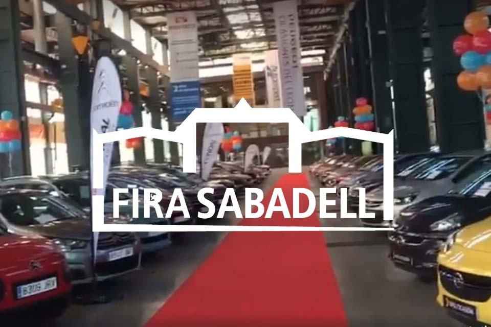 coches de ocasión en la Fira Sabadell